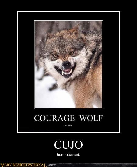 cujo,Courage Wolf,wolf