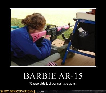 guns AR-15 girls - 4418478080