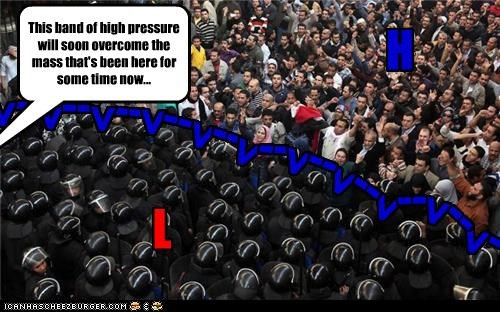 cold front,crowds,egypt,protesters,protests,riots,temperature,weather,weather report