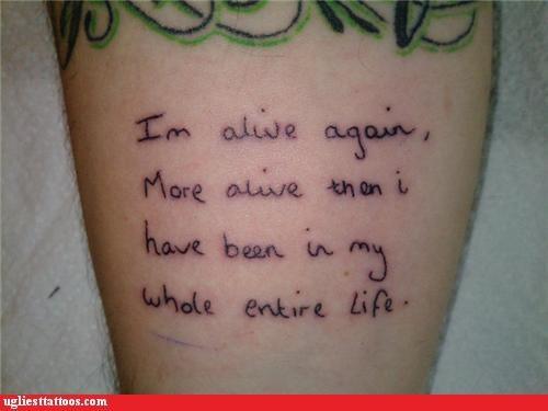 tattoos misspelling funny - 4419126016