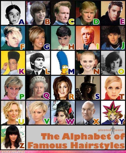 celeb funny hair style - 4419380224