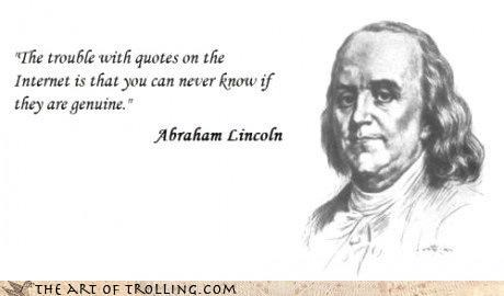 franklin internet lincoln meta quotes - 4419432960