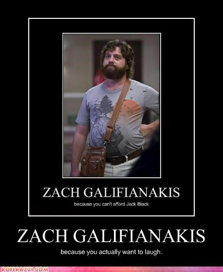 actor celeb funny Zach Galifianakis - 4419485184