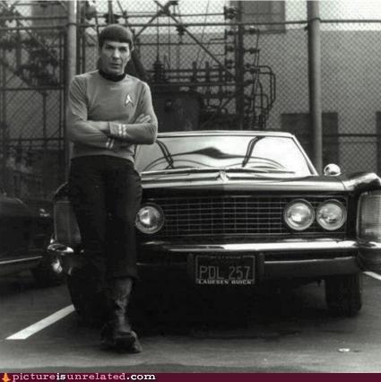 cars,mindwarp,Spock,vintage,wtf