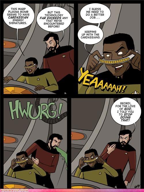 comic csi funny Hall of Fame kardashians meme sci fi Star Trek - 4420042240