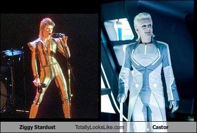 Castor,david bowie,tron,Tron Legacy,ziggy stardust