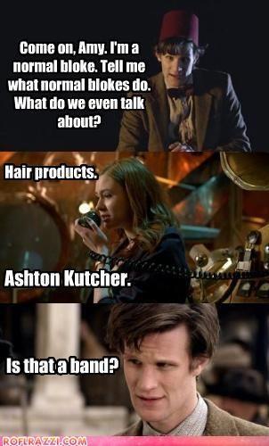 comic doctor who funny Matt Smith panel sci fi - 4420453376
