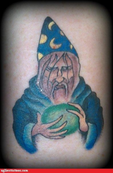 tattoos,wizards,funny