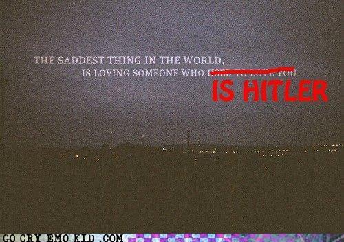 emolulz,hipster,hitler,love,Sad