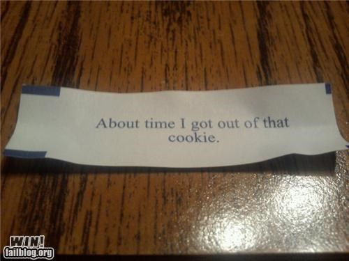 clever fortune cookie its alive wtf - 4420843008
