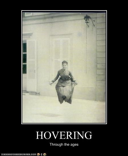 HOVERING Through the ages