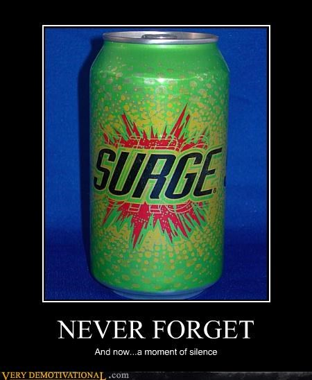 surge soda never forget