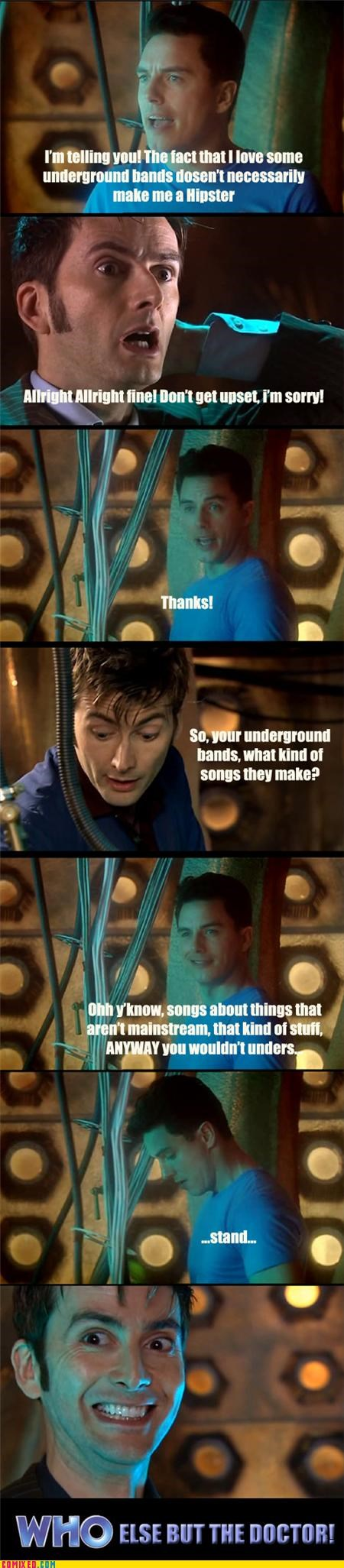 celebutard,doctor who,hipsters,Music,sad but true