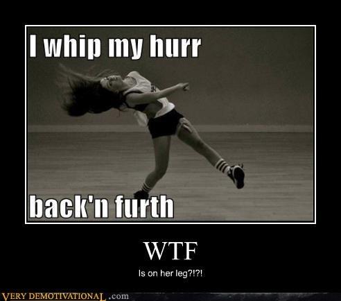 wtf eww leg lady - 4421832448