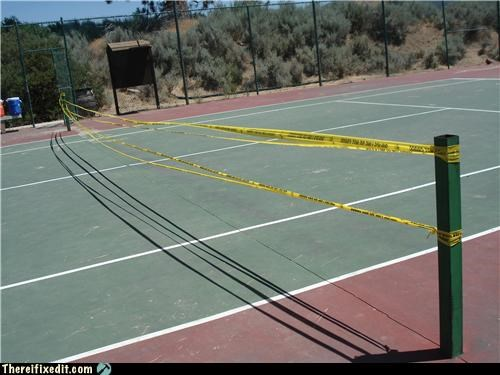 police tape sports tennis wtf - 4421888512