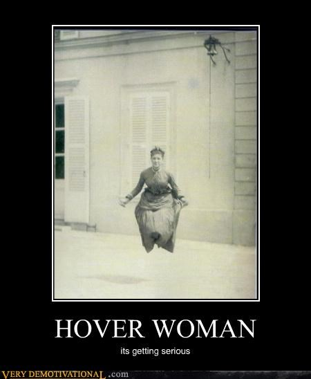 crazy hover woman Photo - 4422086144