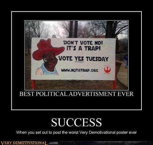 poster,success,demotivational
