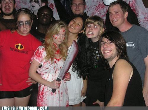 Blood costume derp jk photobomb - 4422285568