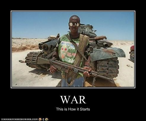 WAR This is How it Starts
