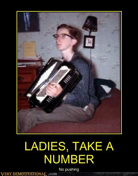 accordion ladies nerd sexy times - 4422524672
