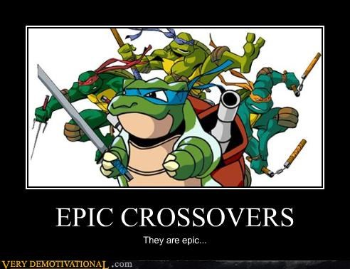 blastoise,cartoons,crossover,ninja turtles