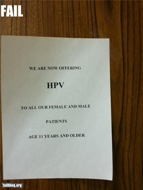 disease failboat g rated HPV medical note prevention shots - 4422933760