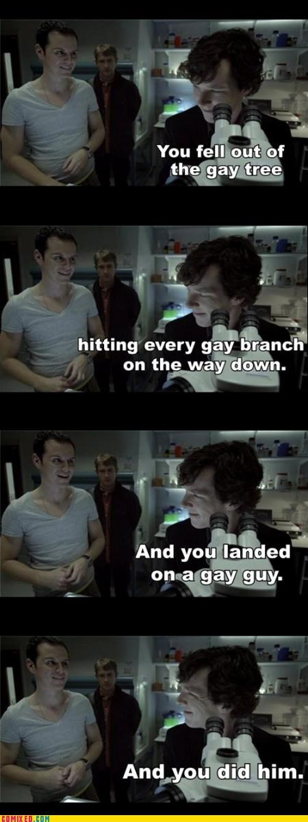 gay jokes,jk,Sherlock,TV,v-neck shirts,wtf