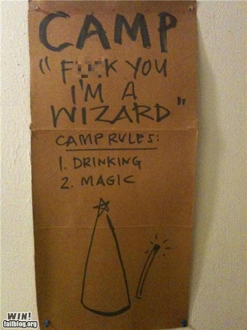 alcohol drinking Party signs wtf - 4423012352