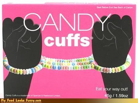candy cuffs handcuffs sugar sweets - 4423101440