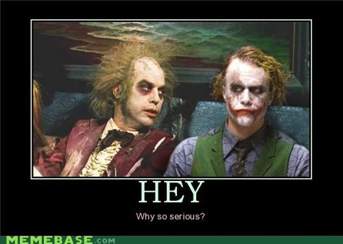 beetlejuice creepy joker wtf - 4423112704