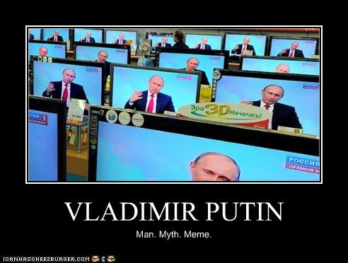 electronics,meme,myths,russia,TV,Vladimir Putin,vladurday