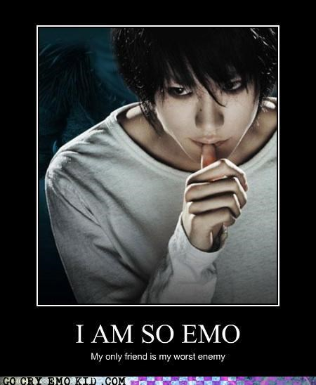 anime death note emo l light manga - 4423334656