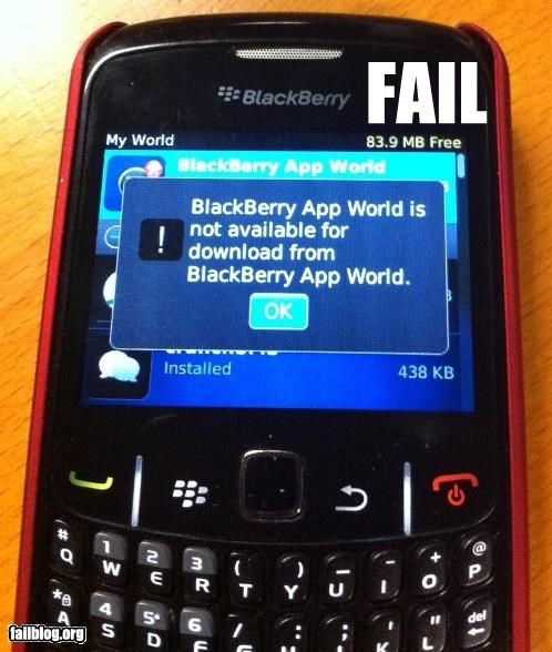 App blackberry download failboat g rated irony mobile phone technology