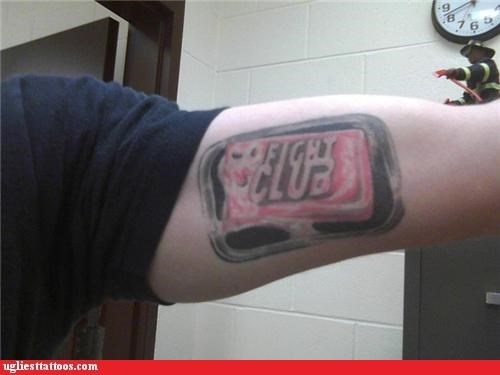 soap tattoos funny fight club