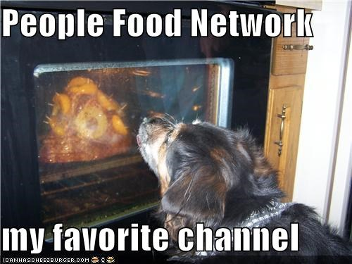 channel cooking excited favorite food network noms oven people Staring whatbreed