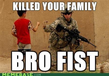 afghanistan boy bro fist irony Memes soldier - 4423623680