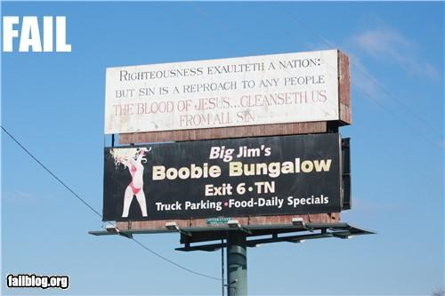 billboard,boobs,failboat,juxtapositions,religion