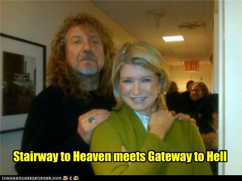 celeb,funny,Martha Stewart,Music,robert plant,TV