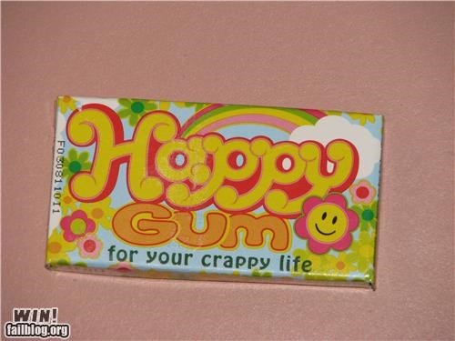 awesome product,food,gum,name,slogan