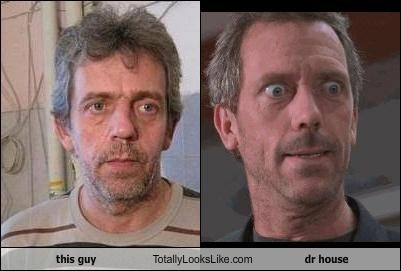 this guy Totally Looks Like dr house