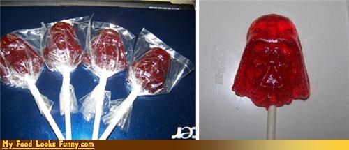 darth vader lollipops star wars suck suckers Sweet Treats - 4423976448