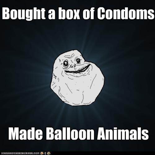 balloon animals condoms forever alone magic tricks - 4424201216