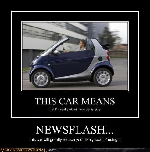 newsflash smart car car top down - 4424348160