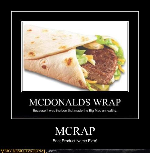 eww crap mc wrap