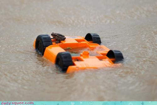 acting like animals flood help shipwreck shipwrecked stranded toad toy truck - 4424729600