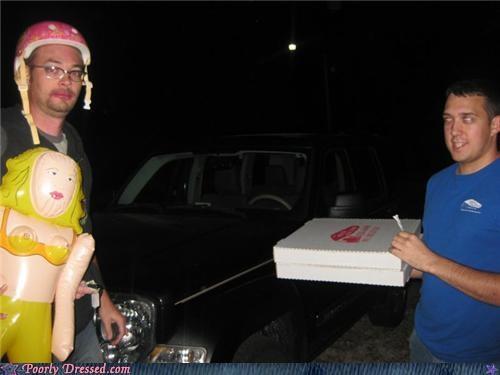 helmet lipstick pizza sex doll weird - 4425124864