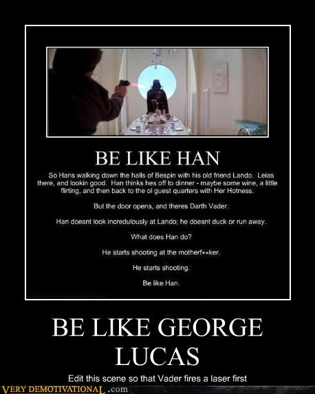 george lucas star wars Han Solo