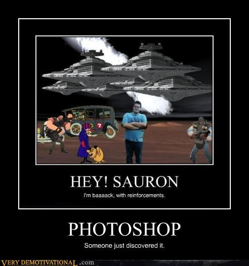 sauron photoshop discovered nerd - 4425444352