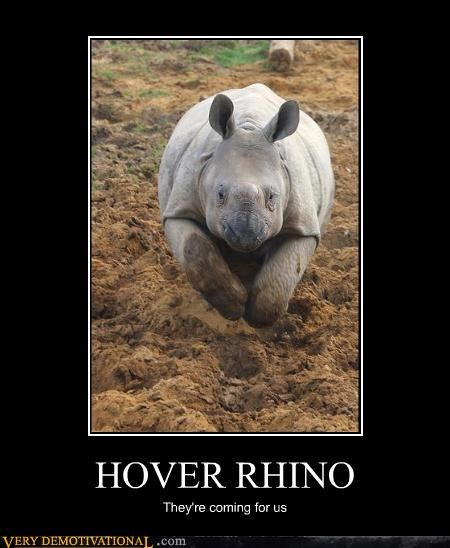 HOVER RHINO They're coming for us