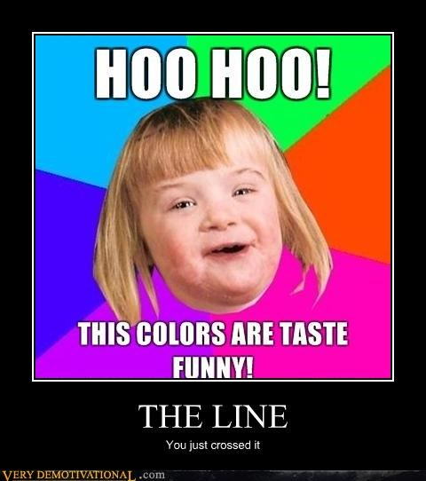 crossed,downs syndrome,the line